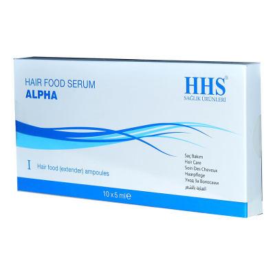 Saç Bakım Serumu Alpha 10 X 5 ML