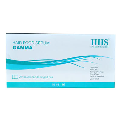 Saç Bakım Serumu Gamma 10 X 5 ML