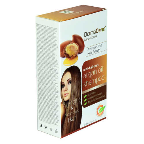 Saç Dökülmesine Karşı Argan Özlü Şampuan Hızlı Saç Uzamasına Etkili 300 ML