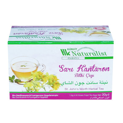 Sarı Kantaron Bitki Çayı 20 Süzen Pşt