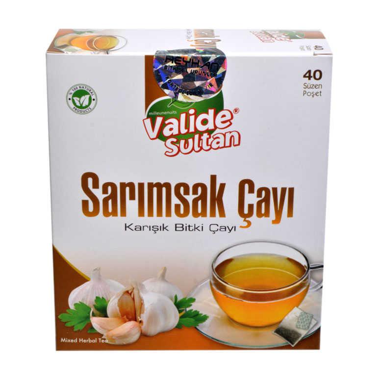 VALİDE SULTAN SARIMSAK ÇAYI GARLİC TEA 40SÜZEN PŞT