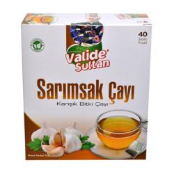 Sarımsak Çayı Garlic Tea 40 Süzen Pşt - Thumbnail