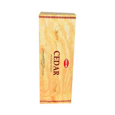 Sedir Ağacı Kokulu 20 Çubuk Tütsü - Cedar