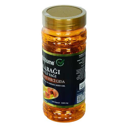 Shiffa Home Bal Kabağı Çekirdeği Yağı Soğuk Sıkım 1000 Mg x 100 Kapsül