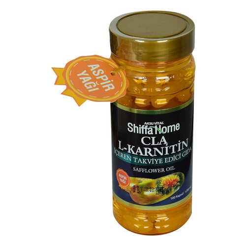 Shiffa Home Cla L-Karnitin Aspir Yağı Yumuşak 1000 Mg x 100 Kapsül