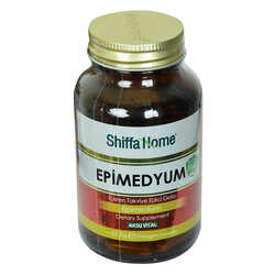 Shiffa Home Epimedyum Diyet Takviyesi 750 Mg x 90 Kapsül - Thumbnail