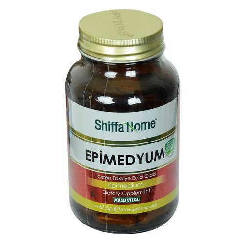 Shiffa Home Epimedyum Diyet Takviyesi 750 Mg x 90 Kapsül