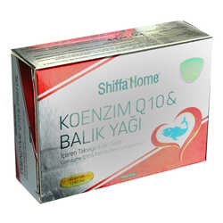 Shiffa Home Koenzim Q10 & Balık Yağı Yumuşak Jel 1340 Mg x 30 Kapsül - Thumbnail
