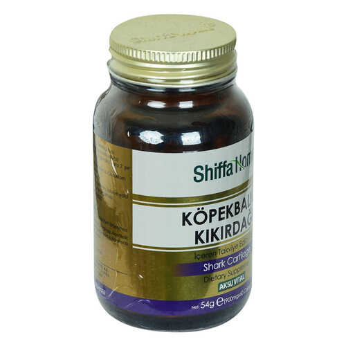 Shiffa Home Köpek Balığı Kıkırdağı Diyet Takviyesi 900 Mg x 60 Kapsül