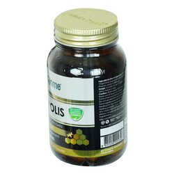 Aksuvital - Shiffa Home Propolis Diyet Takviyesi 470 Mg x 60 Kapsül Görseli