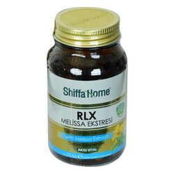 Shiffa Home RLX Melissa Ekstresi Diyet Takviyesi 560 Mg x 60 Kapsül - Thumbnail