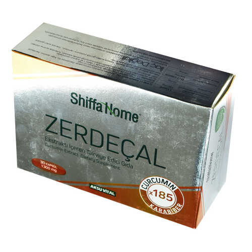 Shiffa Home Zerdeçal Ekstraktı Yumuşak 1300 Mg x 30 Kapsül