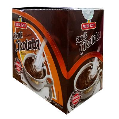 Sıcak Çikolata Tek İçimlik İçecek Tozu 19 Gr X 20 Pşt