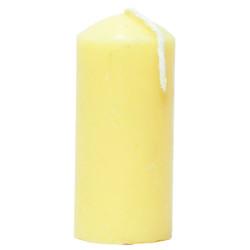 Silindir Mum Sarı 3.5x7cm 60 Gr - Thumbnail