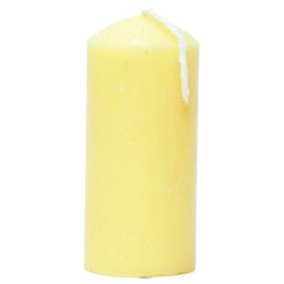 Silindir Mum Sarı 3.5x7cm 60 Gr
