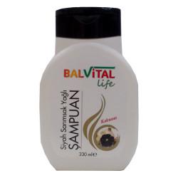 Siyah Sarımsak Yağlı Şampuan Kokusuz 330ML - Thumbnail