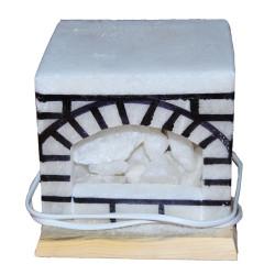 Şömine Kaya Tuzu Lambası 17X17 - Thumbnail