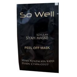 Soyulabilir Siyah Maske 10 ML - Thumbnail