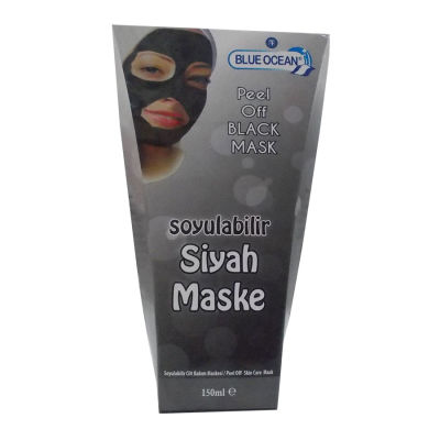 Soyulabilir Siyah Maske 150ML