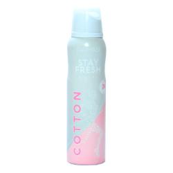 Stay Fresh Cotton Deodorant For Women 150 ML - Thumbnail