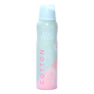 Stay Fresh Cotton Deodorant For Women 150 ML