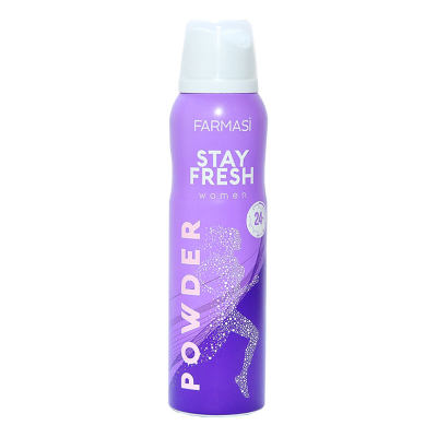 Stay Fresh Powder Deodorant For Women 150 ML