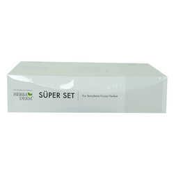 Süper Set Renk Açıcı Leke Kremi 55 ML+Göz Altı Kremi 15 ML + Hediye Yüz Temizleme Fırçası - Thumbnail