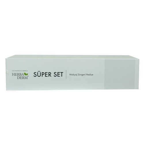 Süper Set Superserum Hyaluronic 3D 30 ML+Biohydration 30 ML + Hediye Makyaj Süngeri