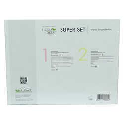 Süper Set Superserum Hyaluronic 3D 30 ML+Biohydration 30 ML + Hediye Makyaj Süngeri - Thumbnail