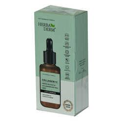 HerbaDerm - Superserum Collagen C Sıkılaştırıcı Aydınlatıcı Doğal Yüz Serumu 30 ML Görseli