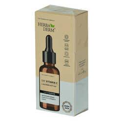 HerbaDerm - Superserum Saf Vitamin C Antioksidant Aydınlatıcı Kırışıklık Karşıtı Doğal Yüz Serumu 30 ML Görseli