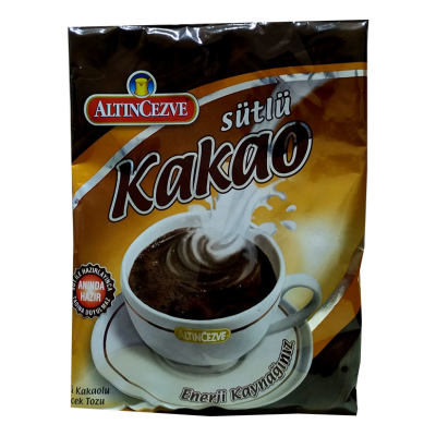 Sütlü Kakaolu İçecek Tozu 250 Gr