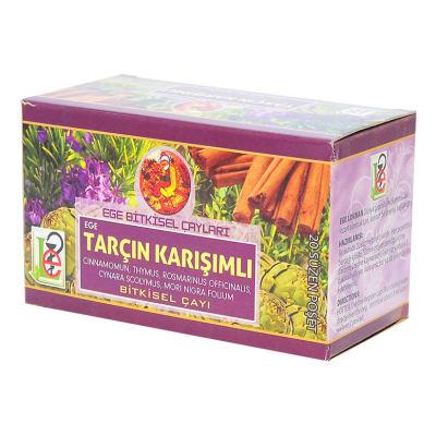 Tarçın Karışımlı Bitkisel Çay 20 Süzen Poşet