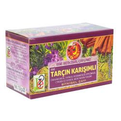 Tarçın Karışımlı Bitkisel Çay 20 Süzen Poşet - Thumbnail