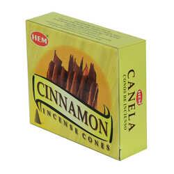 Tarçın Kokulu 10 Konik Tütsü - Cinnamon 10 İncense Cones - Thumbnail