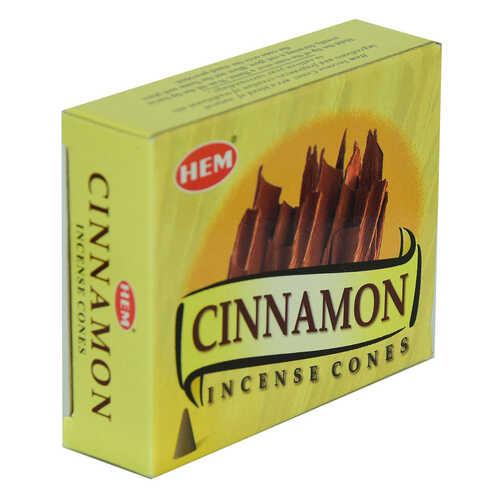 Tarçın Kokulu 10 Konik Tütsü - Cinnamon 10 İncense Cones