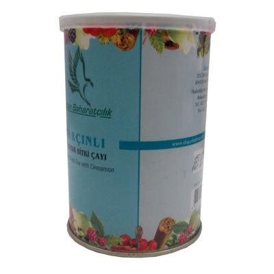 Tarçınlı Karışık Bitkisel Çay 100 Gr Teneke Kutu