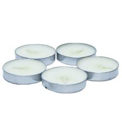 Tea Lights Beyaz Mum 5 li 1 Paket - Thumbnail