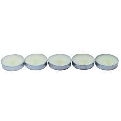 Ksmart - Tea Lights Beyaz Mum 5 li 1 Paket Görseli
