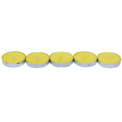 Tea Lights Sarı Mum 5 li 1 Paket