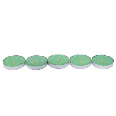Tea Lights Yeşil Mum 5Ad
