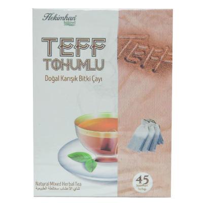 Teff Tohumlu Karışık Bitki Çayı 45 Süzen Poşet