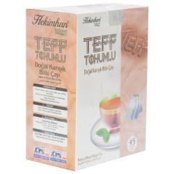 Hekimhan - Teff Tohumlu Karışık Bitki Çayı 45 Süzen Poşet Görseli