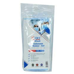 Tek Kullanımlık Non Steril Tıbbi Yüz Maskesi Üç Katlı 50 Adet (10 Adet X 5 Paket) - Thumbnail