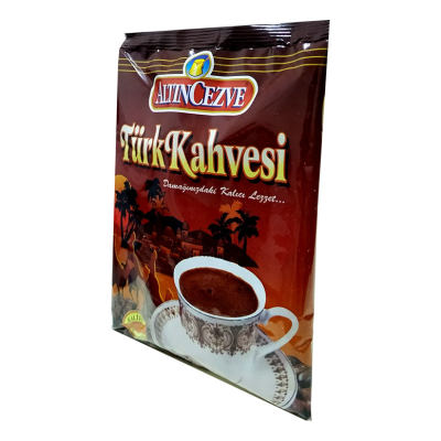 Türk Kahvesi 100 Gr Paket Orta Kavrulmuş