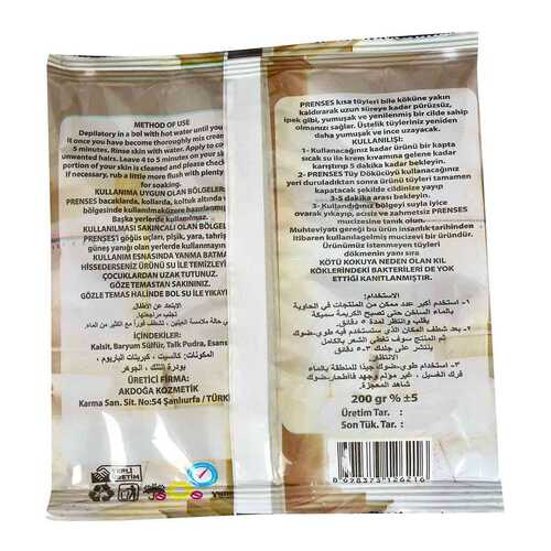 Tüy Dökücü Toz Hamam Otu Bay Bayan Tkrb.170-200 Gr X 20 Paket