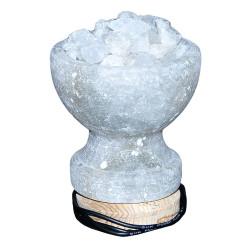 LokmanAVM - Tuz Çanak Kaya Tuzu Lambası Çankırı 1Kg (1)