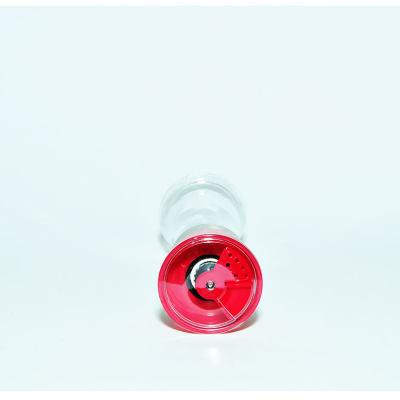Tuz Karabiber Cam Değirmeni Kırmızı