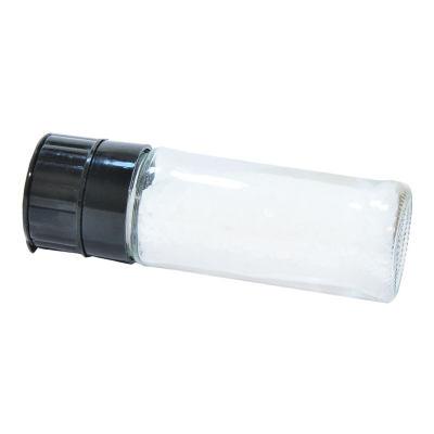 Tuz Karabiber Cam Değirmeni Siyah + Çankırı Granül Çakıl Doğal Kaya Tuzu 100 Gr