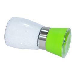 Tuz Karabiber Cam Değirmeni Yeşil + Çankırı Granül Çakıl Doğal Kaya Tuzu 200 Gr - Thumbnail